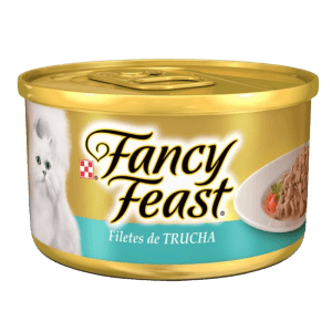 Fancy Feast Filetes de Trucha
