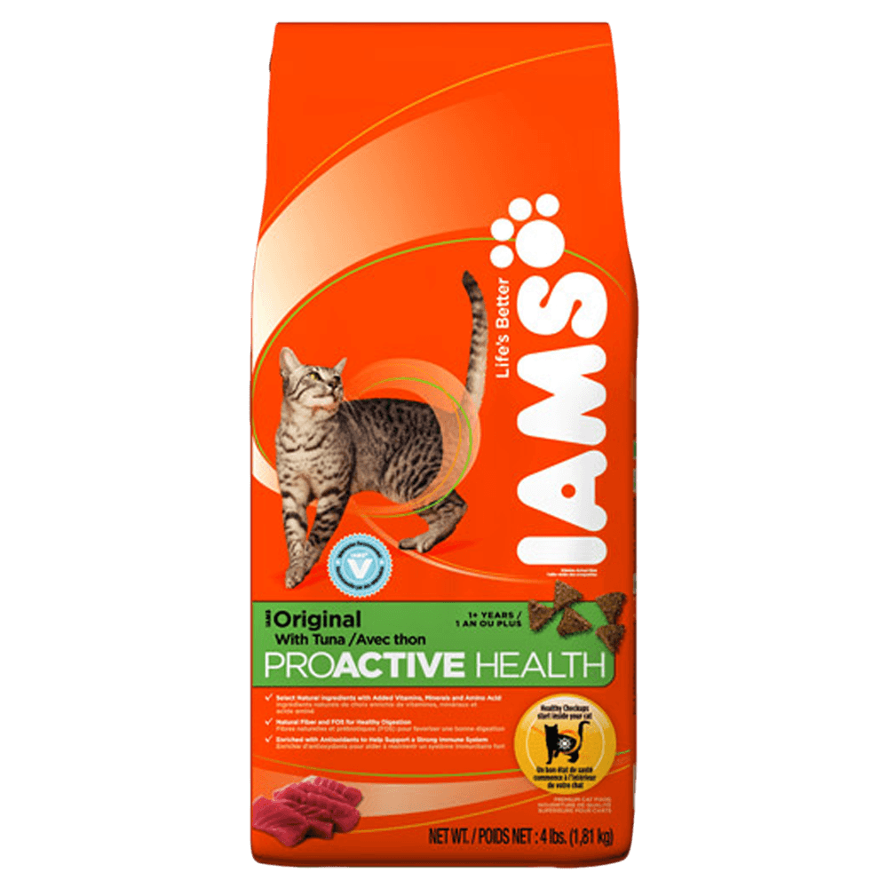 Iams Gato Health with Tuna