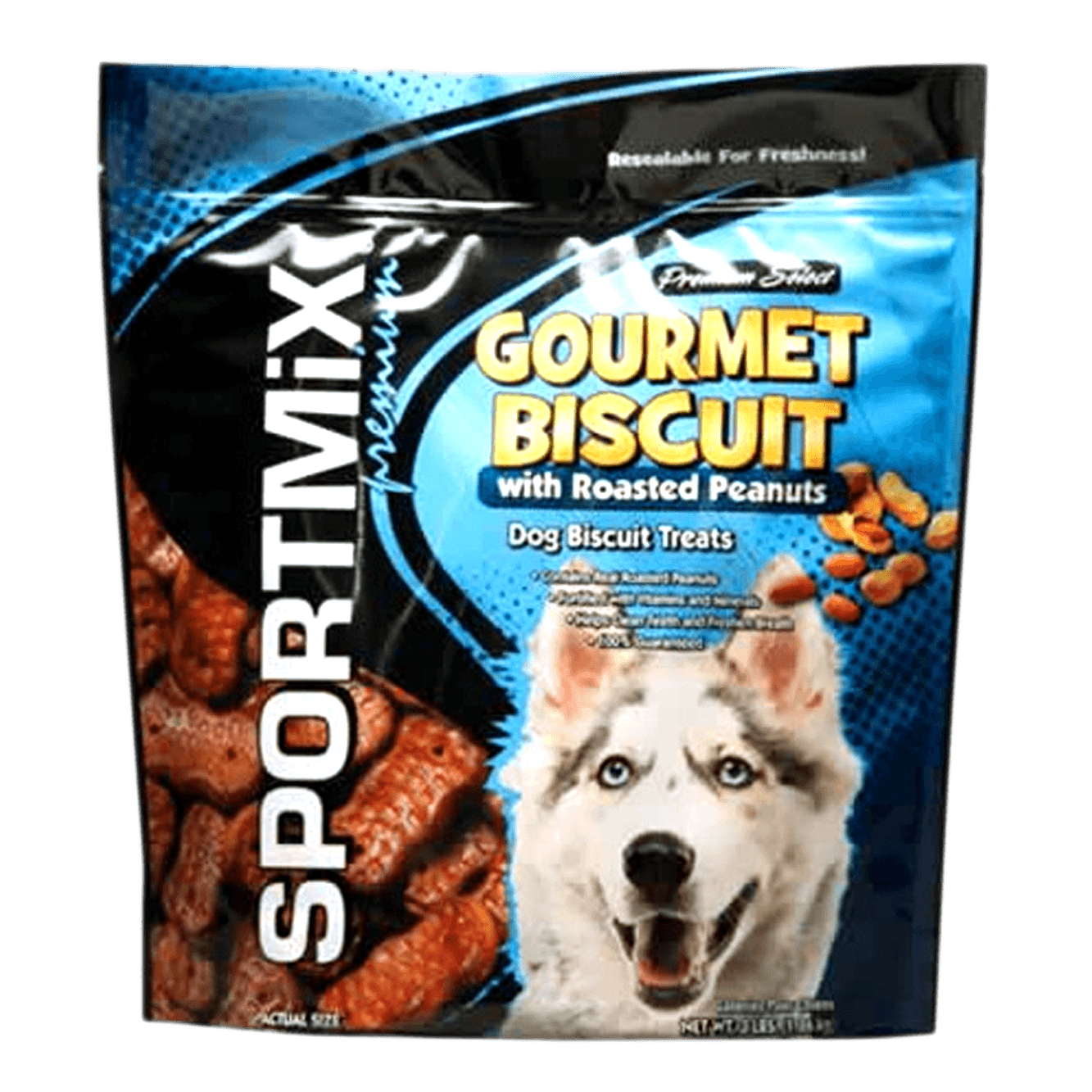 Gourmet Biscuit with Roasted Peanuts