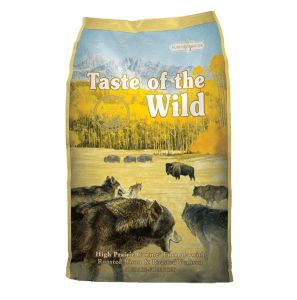 Taste of the Wild with Bison & Roasted Venison