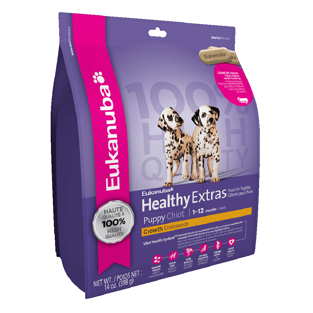 Galletas Eukanuba Healthy Extras Puppy Growth