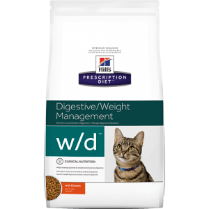 Hill´s Prescription Diet W/D Feline Low Fat