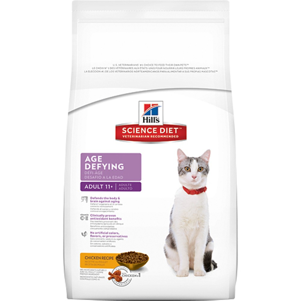 Science Diet Adult 11+ Age Defying Gato