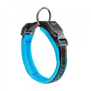 Collar Acolchado Sport Dog Para Perro. Color Azul