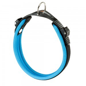 Collar Ergocomfort  Fluo Color Azul