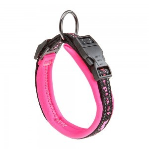 Collar Acolchado Sport Dog Para Perro. Color Rosado