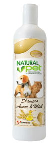Natural Pet Shampoo Avena y Miel