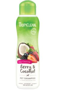 Shampoo TropiClean Berry and Coconut