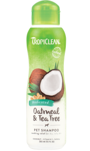 Shampoo Tropiclean Oatmeal & Tea Tree