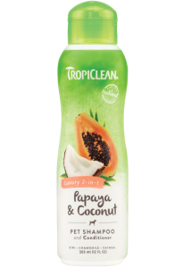 Shampoo Tropiclean Papaya and Coconut