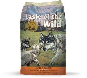 Taste of the Wild with Bison & Roasted Venison Puppy