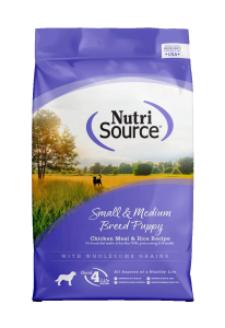 Nutri Source Small and Medium Breed Puppy Chiken and Rice