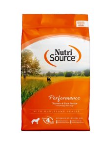 Nutri Source Performance Chiken and Rice de 40 lbs